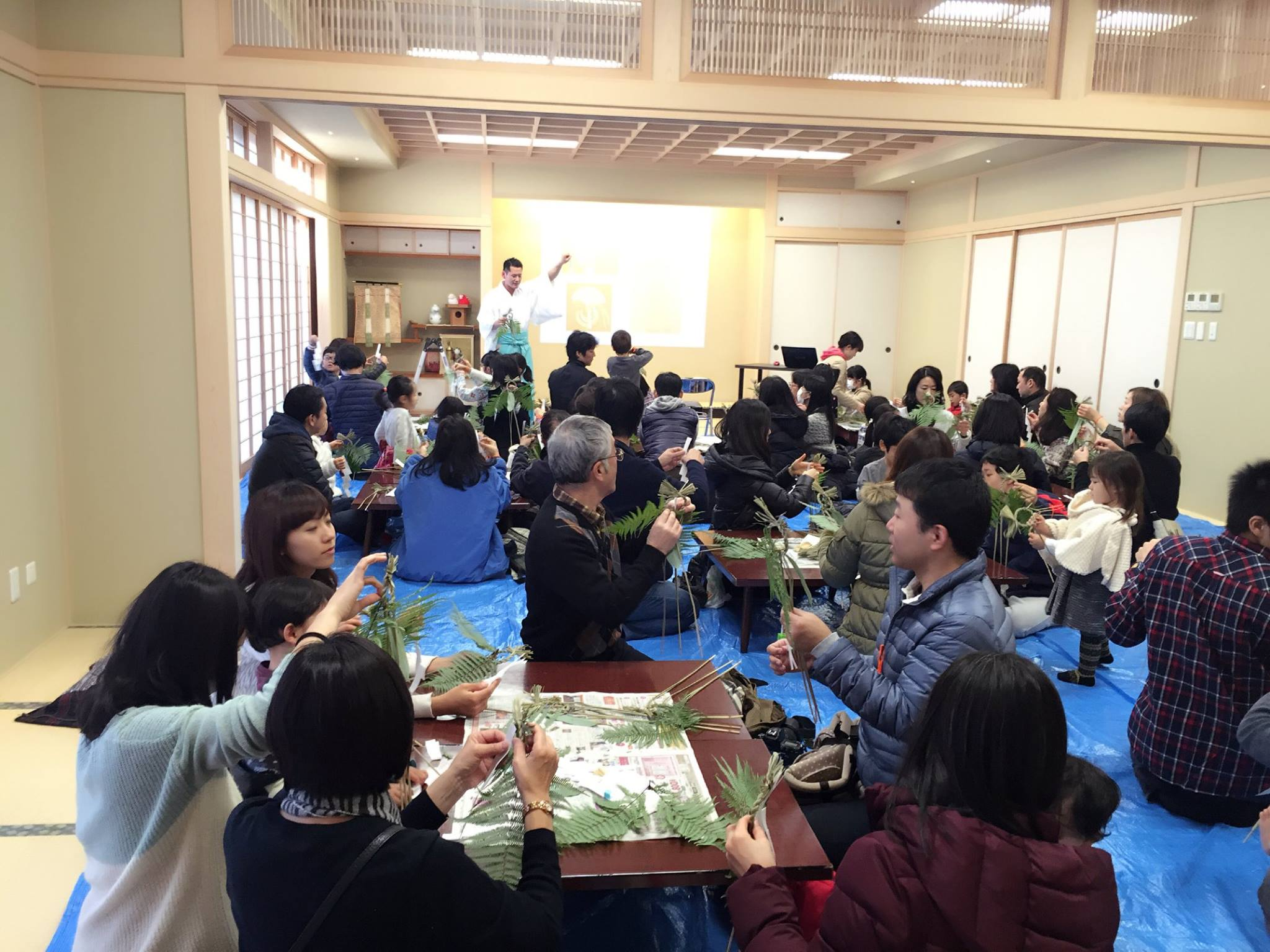 赤坂氷川神社 もちつき10